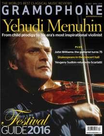 Zeitschriften: Gramophone April 2016 - The Classical Music Magazine, Zeitschrift