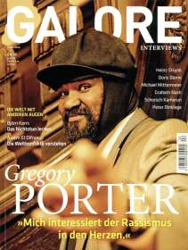 Zeitschriften: GALORE - Das Interview-Magazin. Kultur. Gesellschaft. Menschen. Ausgabe 14, Zeitschrift