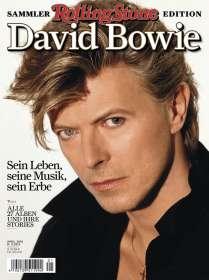 Zeitschriften: ROLLING STONE Sammler-Ausgabe DAVID BOWIE, Zeitschrift