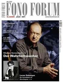 Zeitschriften: FonoForum Mai 2016 , Zeitschrift