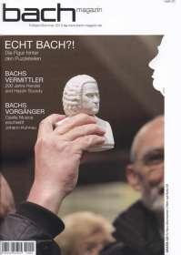 Zeitschriften: Bach-Magazin (Heft 25) - Bach-Archiv Leipzig, Buch