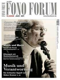 Zeitschriften: FonoForum Juli 2015 , Zeitschrift