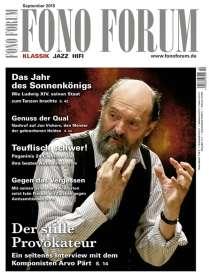 Zeitschriften: FonoForum September 2015 , Zeitschrift