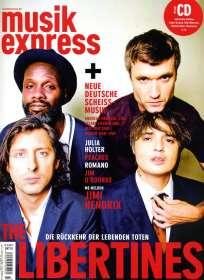 """Zeitschriften: musikexpress Oktober 2015 + CD: """"Der Soundtrack zum Heft 10.15"""", Zeitschrift"""
