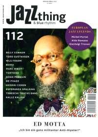 Zeitschriften: JAZZthing - Magazin für Jazz (112) Februar/März 2016, Zeitschrift