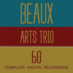 Beaux Arts Trio - The Complete Philips Recordings, 60 CDs