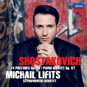 Dimitri Schostakowitsch (1906-1975): Klavierquintett op.57, CD