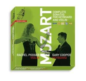 Wolfgang Amadeus Mozart (1756-1791): Sämtliche Sonaten für Violine & Klavier, 8 CDs