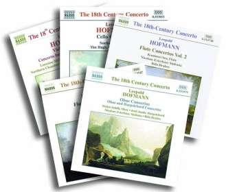 Leopold Hofmann (1738-1793): Instrumentalkonzerte, 5 CDs