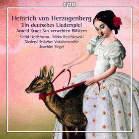 Heinrich von Herzogenberg (1843-1900): Deutsches Liederspiel op.14 für Soli, Chor & Klavier 4-händig, CD