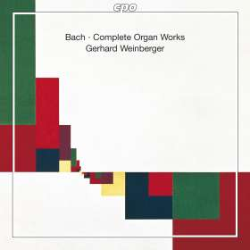 Johann Sebastian Bach (1685-1750): Sämtliche Orgelwerke, 22 CDs
