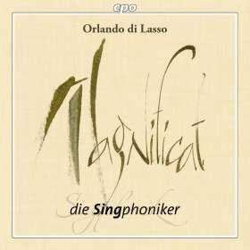 Orlando di Lasso (Lassus) (1532-1594): Magnificat sexti toni, CD