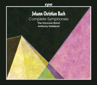 Johann Christian Bach: Sämtliche Symphonien, 5 CDs