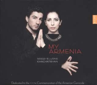 Sergey & Lusine Khachatryan - My Armenia, CD