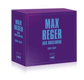 Max Reger (1873-1916): Das Orgelwerk, 14 CDs