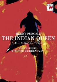 Henry Purcell (1659-1695): The Indian Queen, Blu-ray Disc