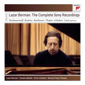 Lazar Berman - The Complete Sony Recordings, 6 CDs