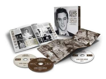 Elvis Presley (1935-1977): A Boy from Tupelo: The Complete 1953 - 1955 Recordings, 3 CDs