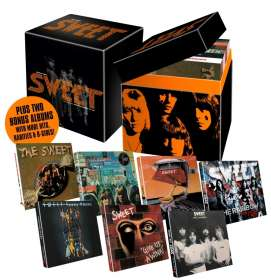 Sweet: Sensational Sweet (Chapter 1 The Wild Bunch 1971-1978), 9 CDs
