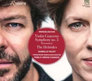 Felix Mendelssohn Bartholdy (1809-1847): Violinkonzert op.64, CD