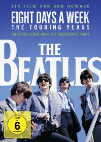 The Beatles: Eight Days A Week - The Touring Years (OmU), DVD