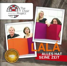 "The Choir Project Austria - Lala, ""Alles hat seine Zeit"", CD"