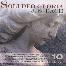 Johann Sebastian Bach (1685-1750): Soli Deo Gloria, 10 CDs