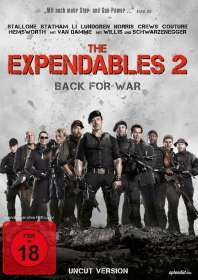 The Expendables 2 - Back For War (Uncut Version), DVD