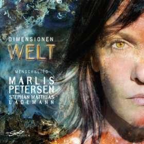 Marlis Petersen - Dimensionen Welt, CD