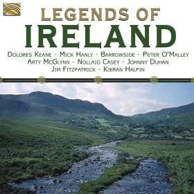 Legends Of Ireland, CD