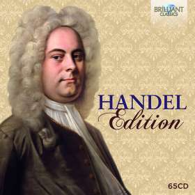 Georg Friedrich Händel (1685-1759): Händel-Edition (Brilliant), 65 CDs