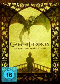 Game of Thrones Season 5, 5 DVDs