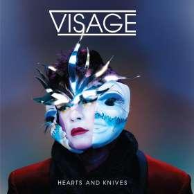 Visage: Hearts & Knives, CD