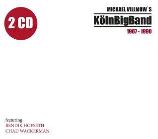 WDR Big Band Köln: Michael Villmow's KölnBigBand 1987-1990, 2 CDs
