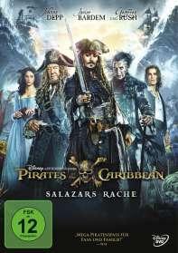 Pirates of the Caribbean: Salazars Rache, DVD