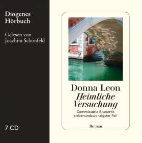 Donna Leon: Heimliche Versuchung, 7 CDs