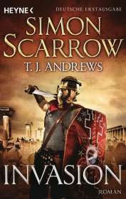 Simon Scarrow: Invasion, Buch
