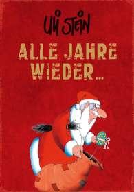 Uli Stein: Alle Jahre wieder......., Buch