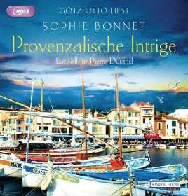 Sophie Bonnet: Provenzalische Intrige, 2 MP3-CDs