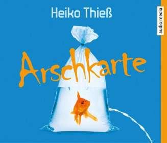 Heiko Thieß: Arschkarte, 4 CDs