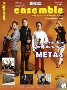Zeitschriften: Ensemble - Magazin für Kammermusik Dezember/Januar 2011/2012, Buch