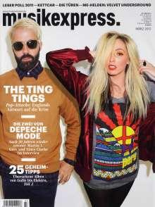 Zeitschriften: musikexpress. März 2012, Buch