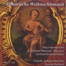 Altbayrische Weihnachtsmusik, CD