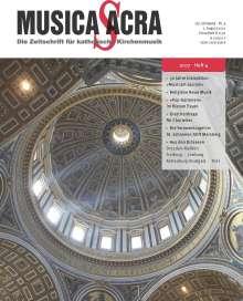 Zeitschriften: Musica Sacra - Zeitschrift für kath. Kirchenmusik  4/2017(August), Zeitschrift