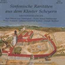 Sinfonische Raritäten aus dem Kloster Scheyern, CD