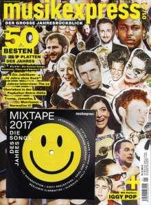 Zeitschriften: musikexpress Januar 2018 + CD: Mixtape 2017, Zeitschrift