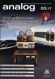 Zeitschriften: analog - Zeitschrift für analoge Musikwiedergabe  03/17, Zeitschrift