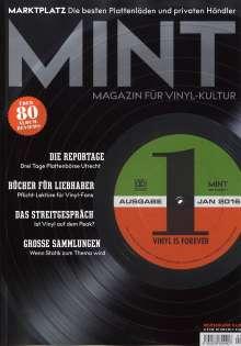 Zeitschriften: MINT - Magazin für Vinyl-Kultur 01/16