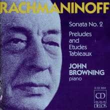 Sergej Rachmaninoff (1873-1943): Klaviersonate Nr.2, CD