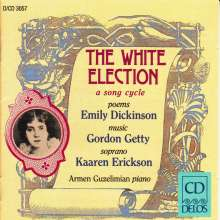 "Gordon Getty (geb. 1933): Liederzyklus ""The White Election"" nach Emily Dickinson, CD"